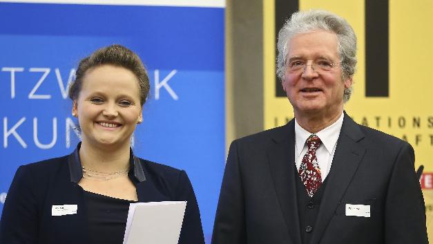 Dr.-Ing. Anne-Katrin Marten war die letzte Gewinnerin des mit 3.000 Euro dotierten Dr. Wilhelmy-VDE-Preis für herausragende Dissertationen.