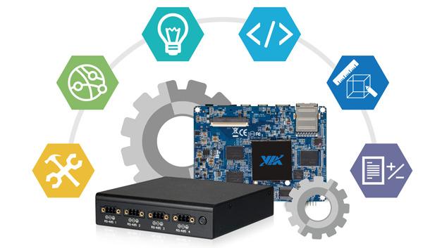 Bei VIA kann man kundenspezfische Boards und Systeme entwickeln lassen.