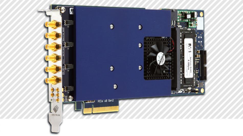 AWGs wie der Spectrum M4i.6622-x8 sind die wohl flexibelsten Signalgeneratoren.