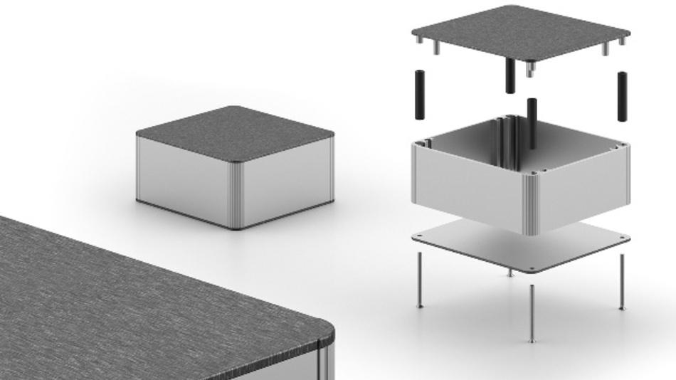 Gehäuse für Embedded-Lösungen gemäß der NUC-Spezifikation
