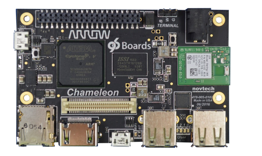 Chameleon96-Board von Arrow Electronics.