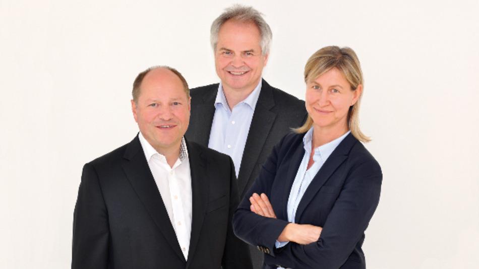 Bert, Georg und Edith Schukat haben sich für 2017 einige Ausbauten vorgenommen