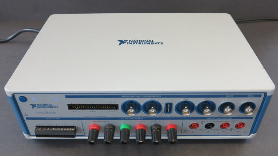 Das kompakte Elektroniklabor VirtualBench.