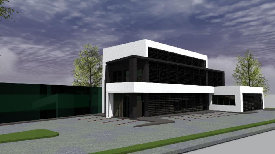 Neue Produktionsstätte der Allengra GmbH.