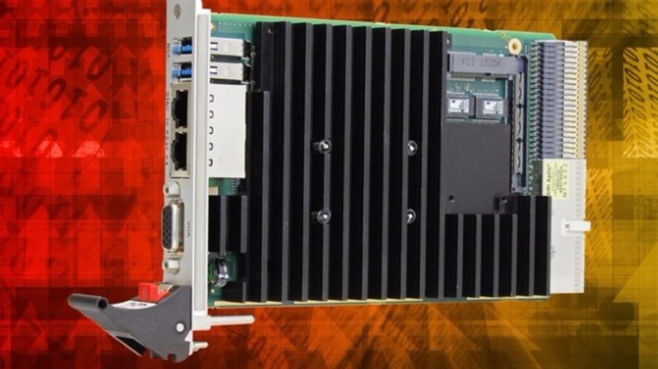 Mit der F26L bringt MEN Mikro Elektronik den Atom-Prozessor E3900 auf eine CompactPCI-PlusIO-Karte.