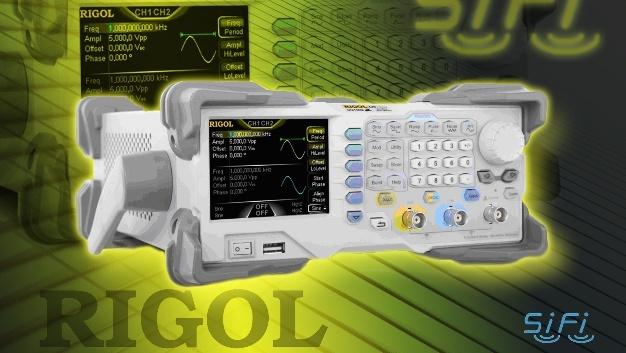 Die neuen Zweikanal-Funktionsgeneratoren von Rigol punkten mit einem geringem Signaljitter.