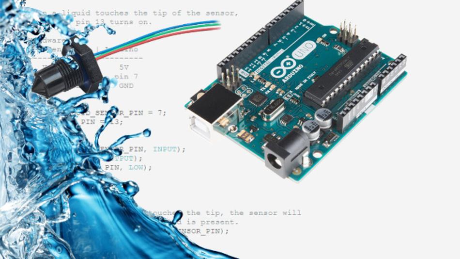 Arduino-basierte Füllstandsanzeige von SST und sparkfun.