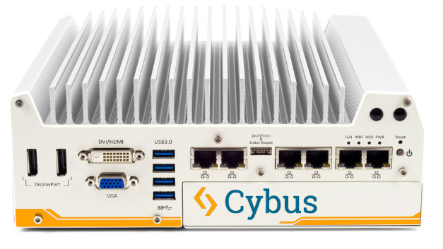Die Connectware von Cybus wird auf einem Welotec Alderamin Industrie-PC ausgeliefert.