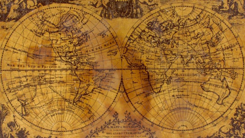 Landkarten zeigen das Weltbild ihrer Zeit, doch sie sind schnell veraltet.