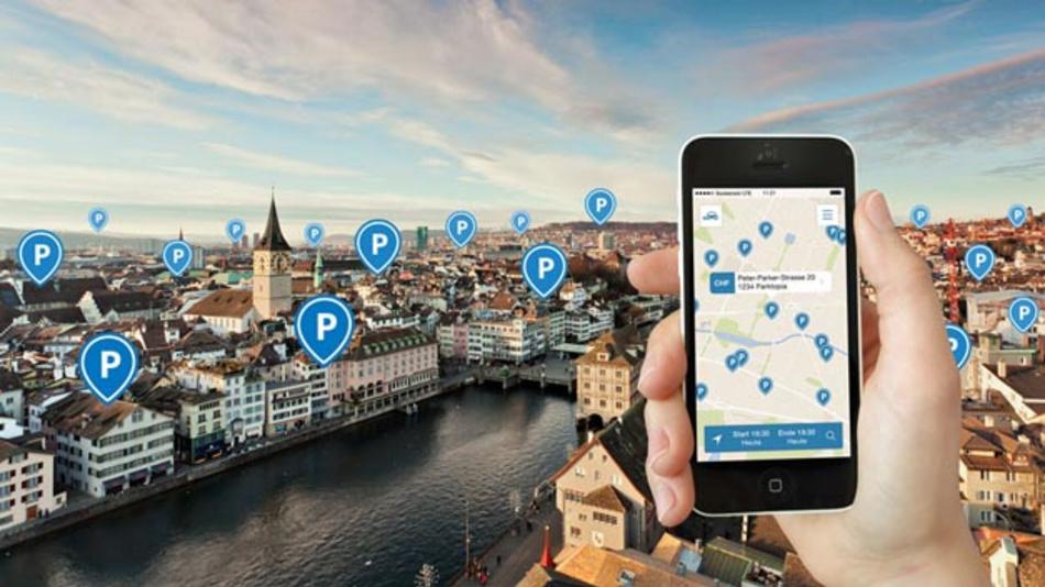 ParkU integriert aktuelle Parkinformationen von Inrix zu sechs Millionen Stellplätzen in 30 Ländern.