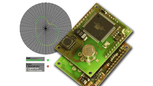 Das USM-VGSA-Modul von Unitronic schafft mit einem Metall-Oxid-Sensor ein 48-Wertiges Sensorfeld.