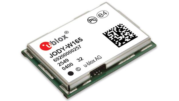 JODY-W1 von u-blox eignet sich für Infotainment- und Telematik-Anwendungen.