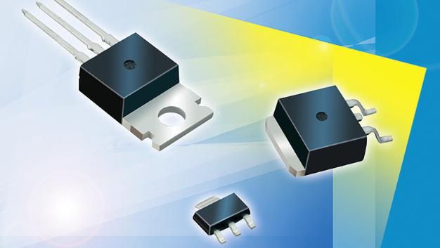 Die HY-LINE Linearregler sind in den Gehäusebauformen TO-220, TO-252, TO-263 sowie SOT-223 verfügbar.