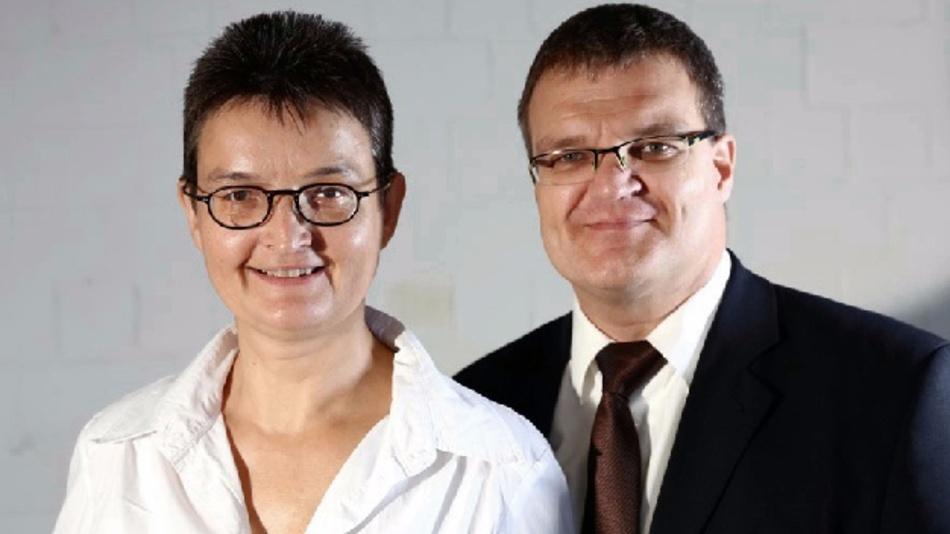 Das Führungsteam: Barbara und Markus Geßner