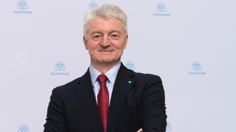 Dr. Heinrich Hiesinger ist studierter Elektrotechniker und heute Vorstandsvorsitzender von Thyssenkrupp.