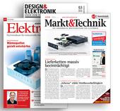 Markt&Technik dominiert im Printanzeigenmarkt Segment Elektronik
