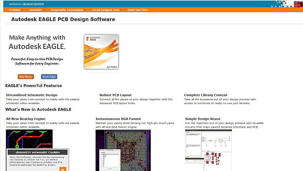 Autodesk EAGLE PCB Design Software