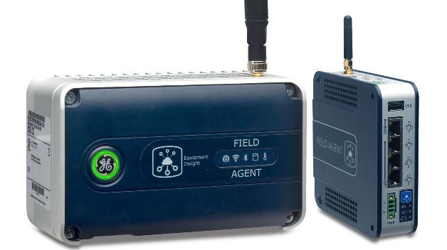 Die »Mini Field Agents« von General Electric dienen zur Vernetzung von Steuerungen, zum edge-computing und dem weiterleiten von Steuerbefehlen aus der Cloud. Sie unterstützen TCP und OPC-UA, arbeiten mit einem 600 MHz ARM A8 und benötigen 250 mA bei 24V DC.