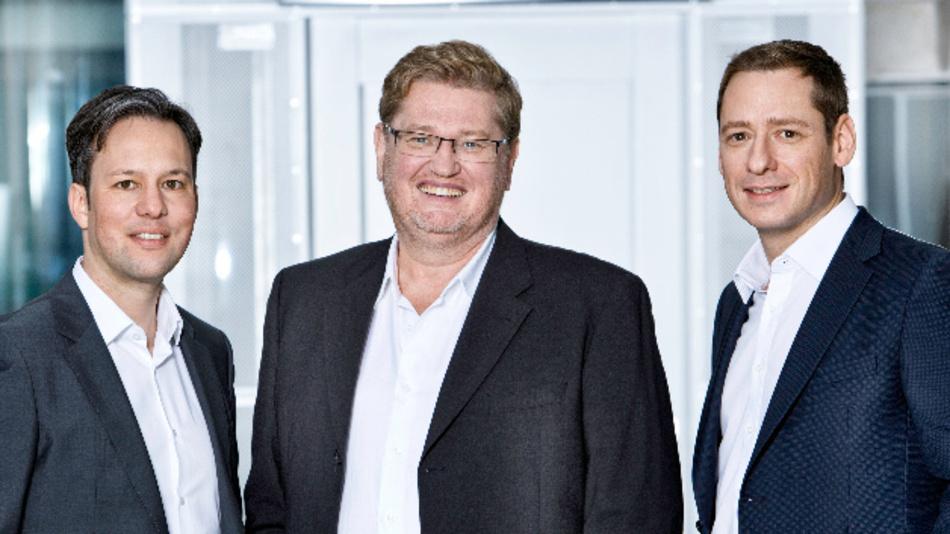 Die neue Copa-Data-Geschäftsleitung (v.l.n.r.): Phillip Werr (CMO/COO), Thomas Punzenberger (CEO) und Stefan Reuther (CSO).