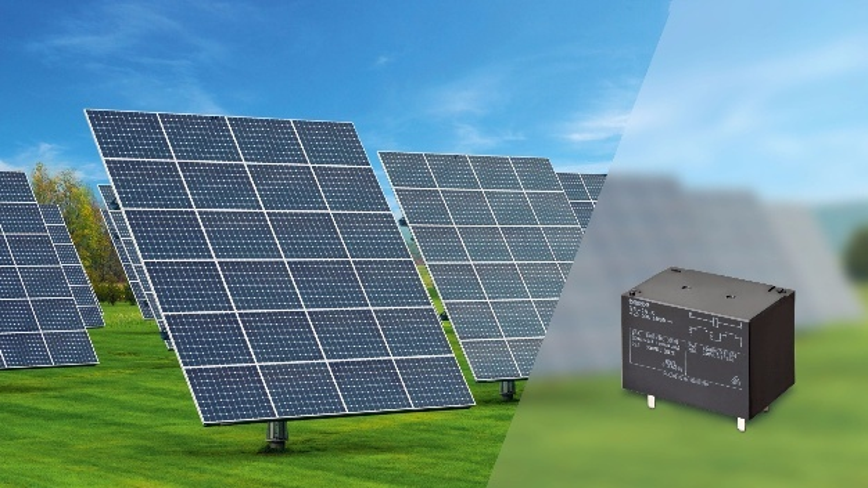 1.000 V DC Relais für sichere Solarpanele