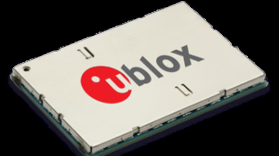 Die Module TOBY-R202 und TOBY-R200 von u-blox nehmen eine Fläche von 24.8  mm x 35.6 mm ein.
