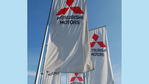 Mitsubishi startet auch 2017 wieder durch.