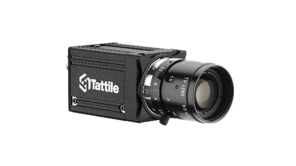 Kompakt gebaut ist die Hyperspectral-Imaging-Kamera TAG5-Hyp von Tattile.