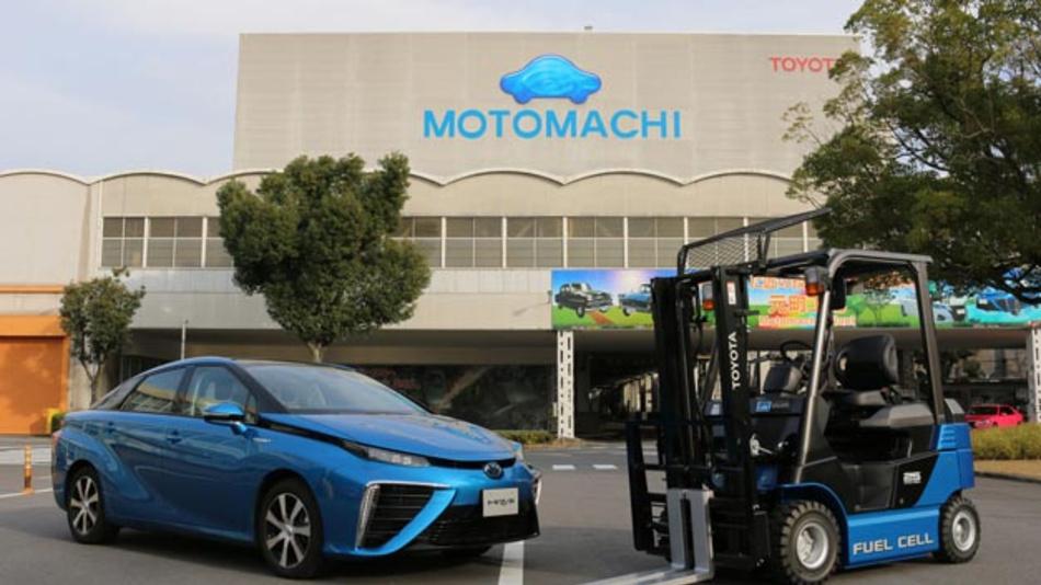 Der Einsatz von Wasserstoff als Energieträger spielt eine wichtige Rolle für die Nachhaltigkeit in der Fahrzeugfertigung.
