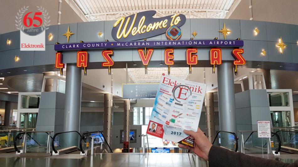 In Las Vegas war die Elektronik bereits. Dorthin hat sie unser Chefredakteur Gerhard Stelzer im Rahmen seines Besuchs der CES mitgenommen.