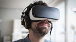 Virtual Reality Headset mit Eye-Tracking-Funktion
