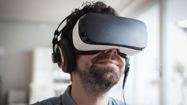 Virtual Reality im Einsatz.