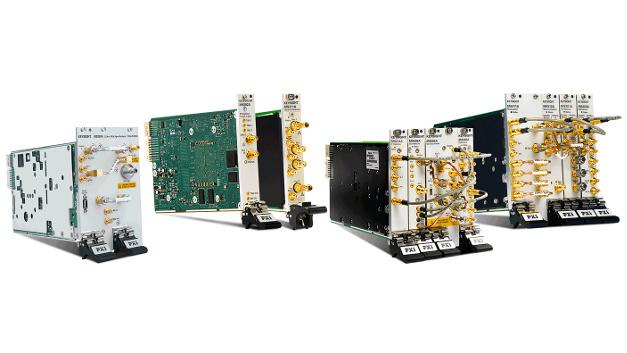 Auch die Palette der PXI-Produkte gehört zu den Ausstellungshighlights am Keysight-Stand auf der embedded World.