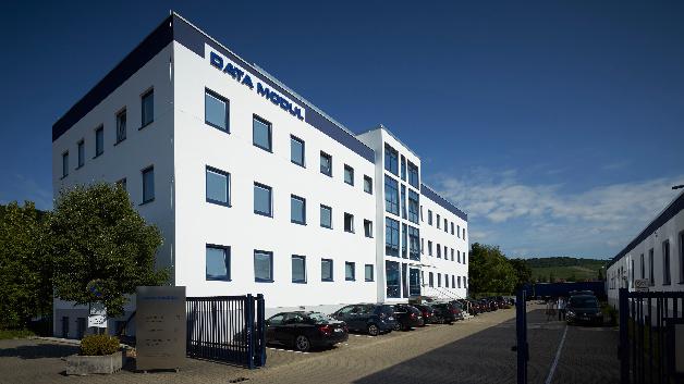 Verwaltungsgebäude der Data Modul am Standort Weikersheim.