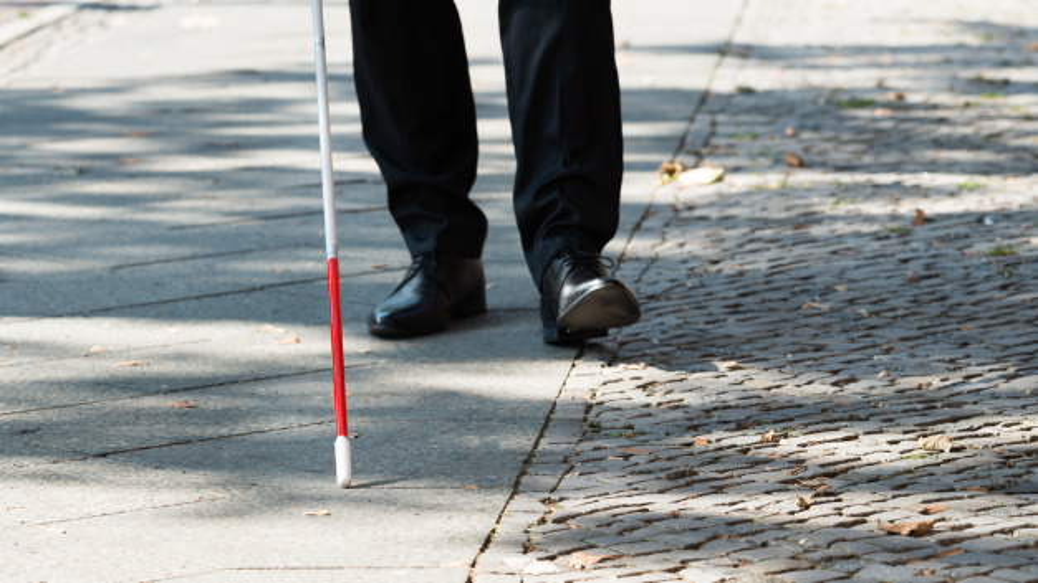 Das französische Forschungsinstitut Leti will einen smarten Blindenstock entwickeln.