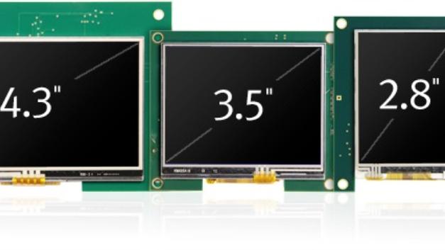 Auf Microchips MCUs PIC24 bzw. PIC32 basiert Displaytechs Entwicklungsplattform Nucleus für kleinformatige TFT-Displays.