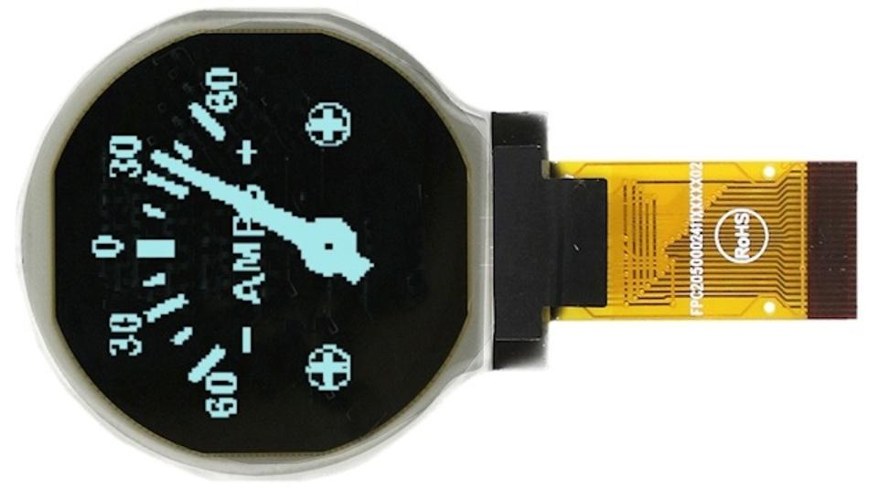 OLED-Displays der Modellfamilien EA W128128-XRxx