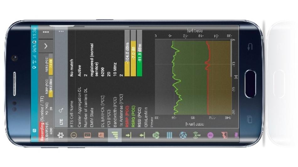 QualiPoc Android ist ein multifunktionales Smartphone-basiertes Tool für die Fehlerbehebung bei der Sprach- und Datendienstqualität und HF-Optimierung.
