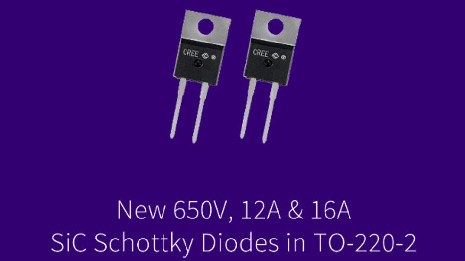Je nach Typ sind die Dioden einsetzbar in PFC-Verstärkerstufen für Server-Netzteile, in Ladegeräten oder in Photovoltaik-Wechselrichtern.