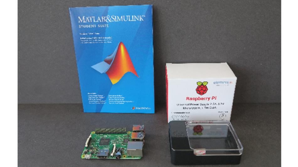 """Das Raspberry Pi 3 - """"Learn to Program Pack"""" ist nur eines der zahlreichen DevKits aus dem Farnell-Sortiment, H3/221."""
