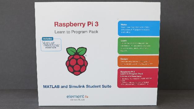 """Das Raspberry Pi 3 - """"Learn to Program Pack"""" ist nur eines der zahlreichen DevKits aus dem Farnell-Sortiment, H3/211."""