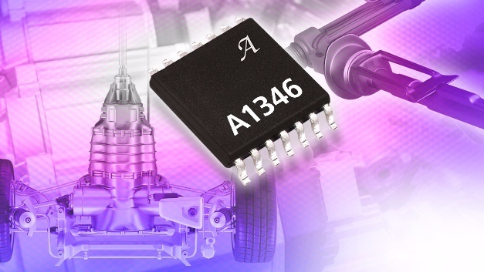 Dual-Chip programmierbarer linearer Hall-Sensor-IC von Allegro Microsystems