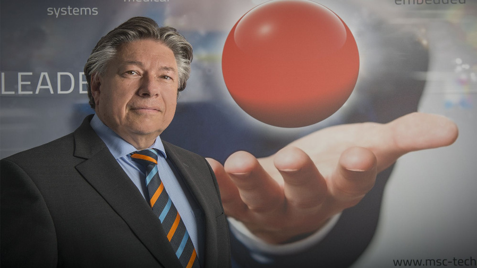 Roland Federle, MSC Technologies: »Analog-resistive Touch-Lösungen spielen kaum noch eine Rolle.«
