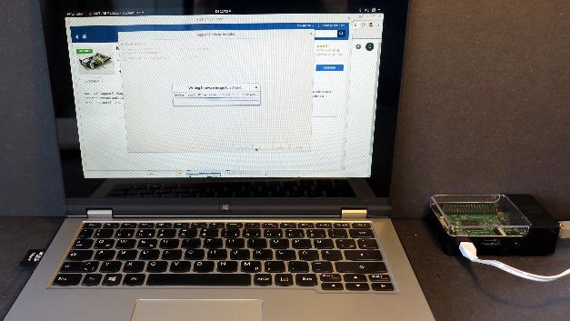 Der Raspberry Pi wird in die Matlab-Umgebung eingebunden.