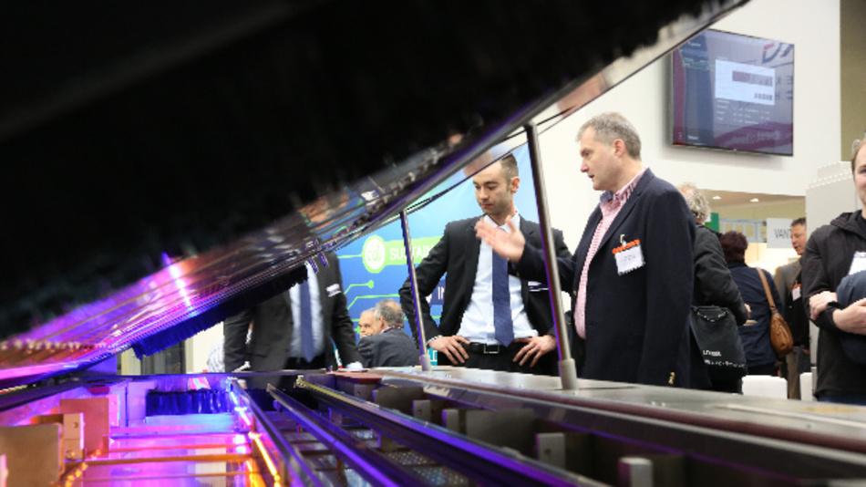 Wie im letzten Jahr können sich auch 2017 die Besucher auf der SMT Hybrid Packaging Themen zu Aufbau- und Verbindungstechnik informieren.