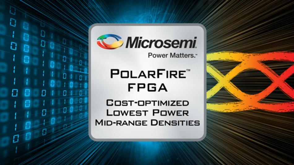 PolarFire nennt Microsemi seine neuen Mittelklasse-FPGAs mit bi szu 500 k Logikblöcken.