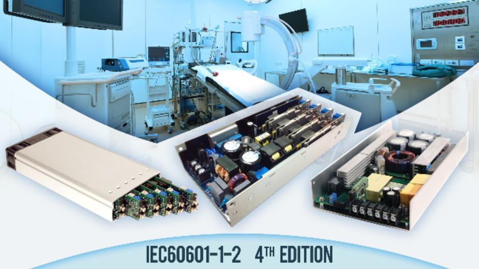 Die Stromversorgung Excelsys CoolX600 ist wie alle anderen Netzteile von Excelsys nun für medizinische Anwendungen zugelassen.