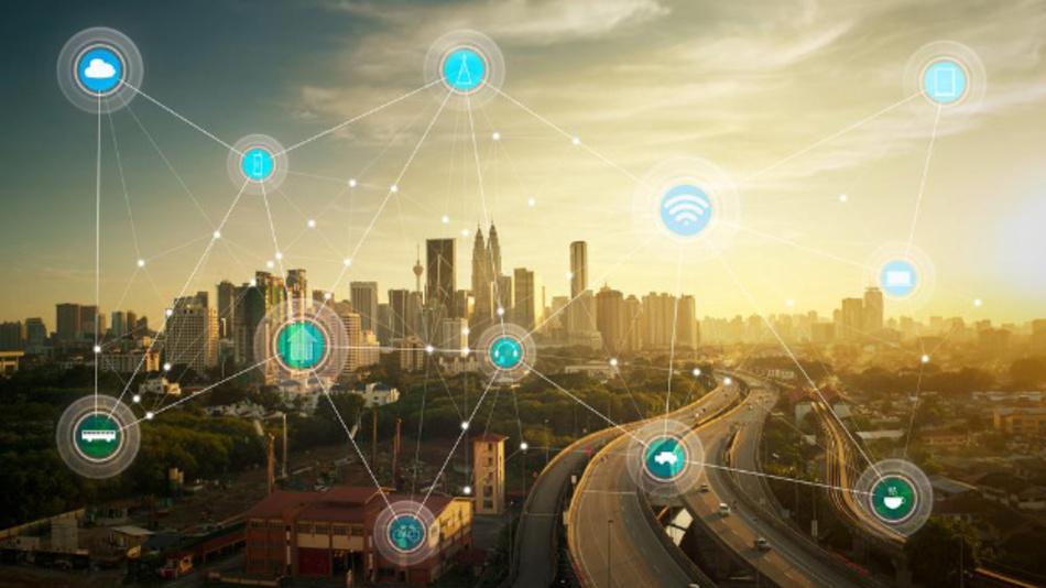Noch Utopie: Ressourcenmanagement in Großstädten mit IoT-Methoden.