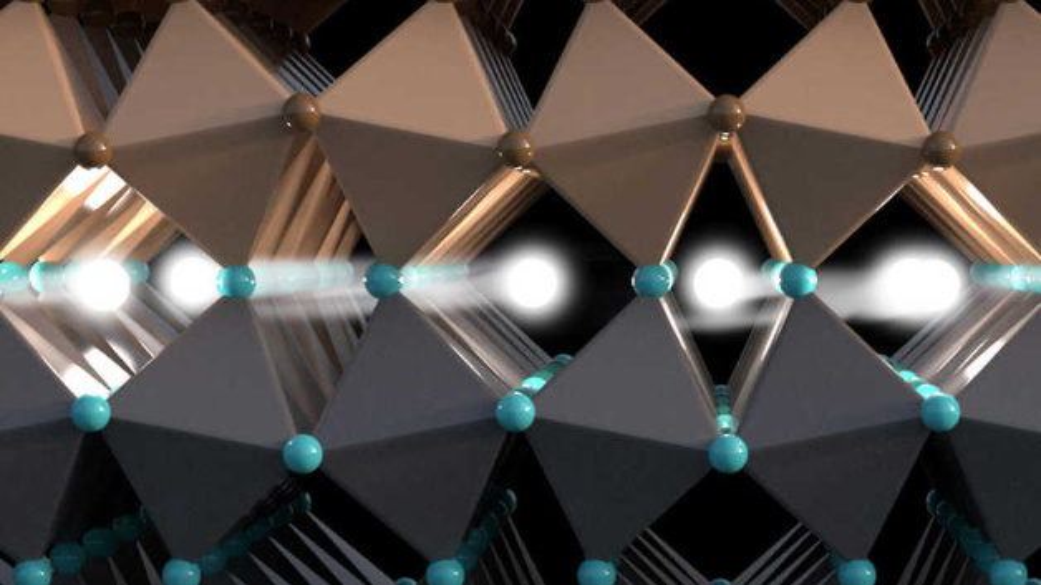 Die Grenzschicht ermöglicht den Transport von Informationen über den Elektronenspin.