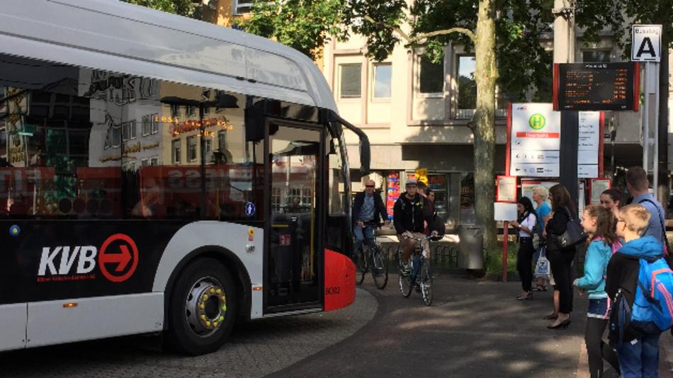 Kölner Verkehrs-Betriebe (KVB) will mehr E-Busse.