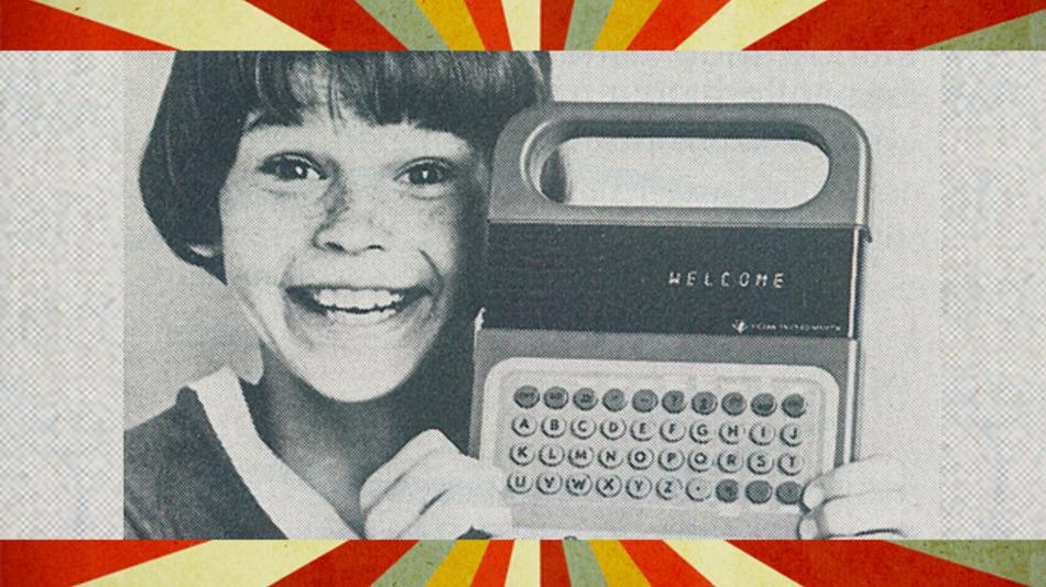 Einen sprechenden Rechner zum Spielen stellte TI im Jahr 1979 vor.